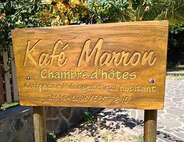 Chambre d'hôtes et restaurant Kafemarron