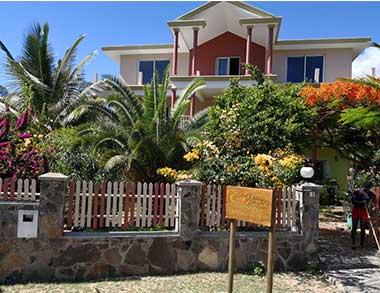 Voyages Rodrigues, location de chambres au Kafé Marron