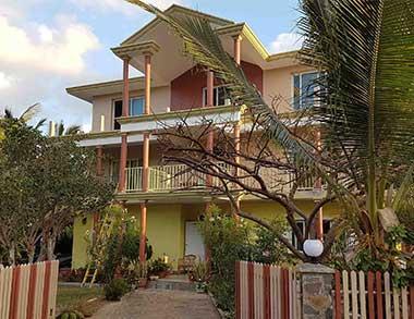 Vacances Rodrigues, maison d'hôtes Kafé marron