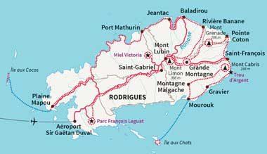 Voyager à l'ile Rodrigues